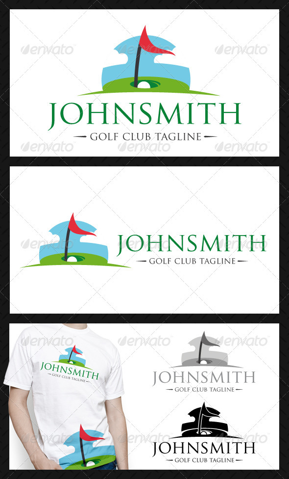 Golf Club Logo Template - Objects Logo Templates