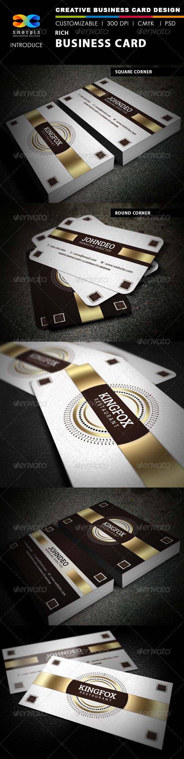 Rich Business Card - Corporate Business Cards
