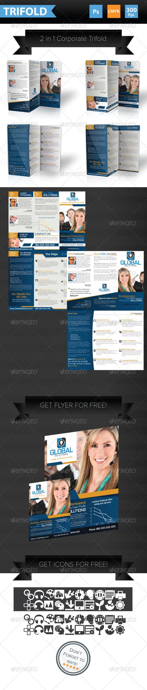 2 in 1 Corporate Broshure - Corporate Brochures