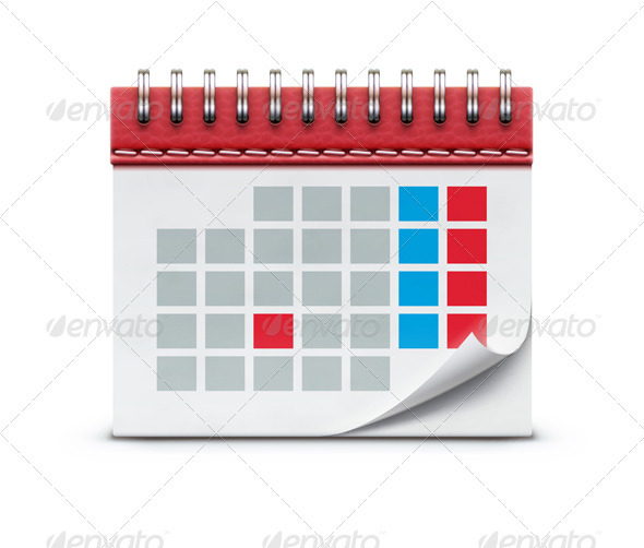 calendar icon  - Conceptual Vectors