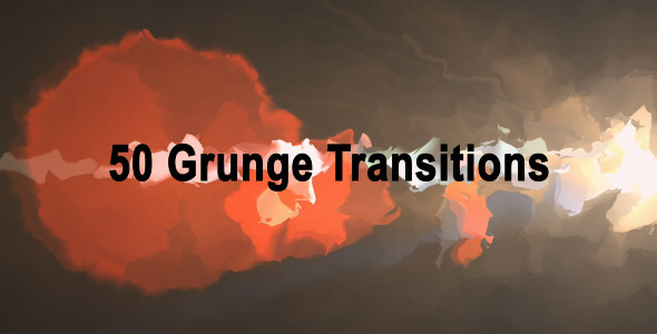 Videohive Grunge Transitions (50-Pack) 3959286 - Free Download