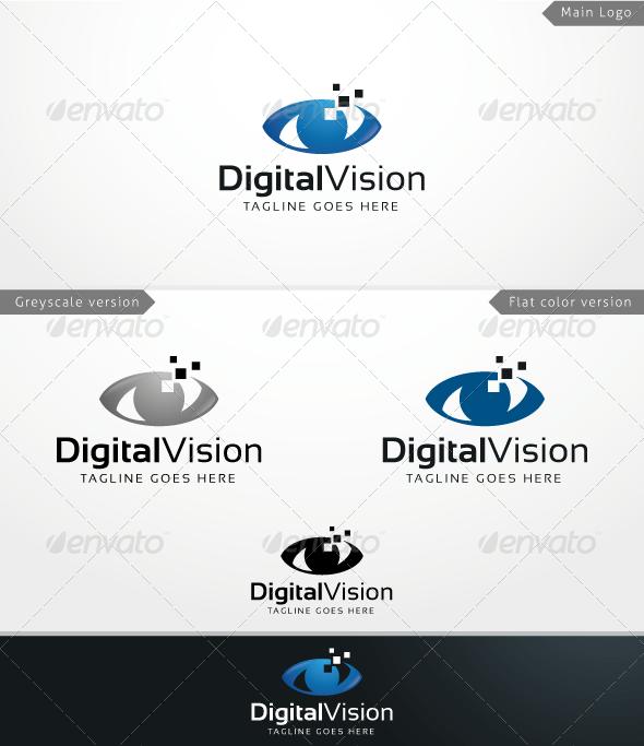 Digital Vision - Logo Template - Humans Logo Templates