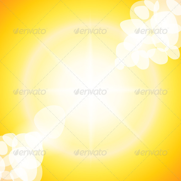 Sun Rays - Backgrounds Decorative
