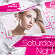 Saturday Night Club Party Flyer - GraphicRiver Item for Sale