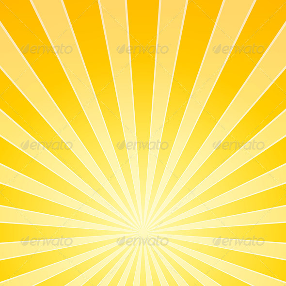 Yellow Bright Light Beams - Backgrounds Decorative
