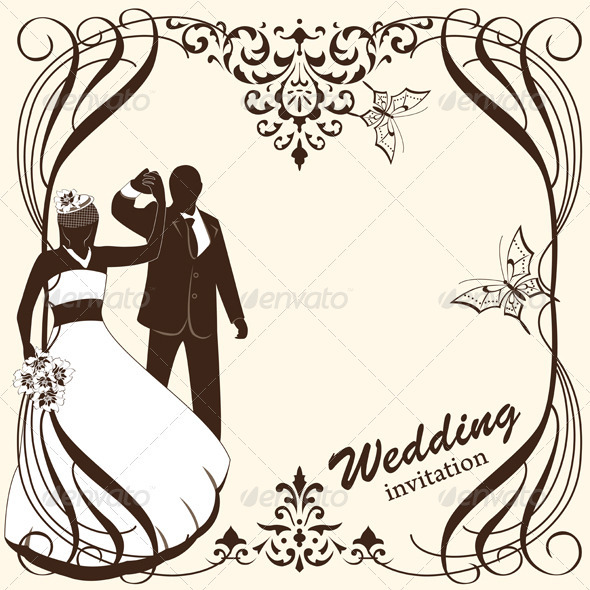 Wedding Card Invitation - Weddings Seasons/Holidays