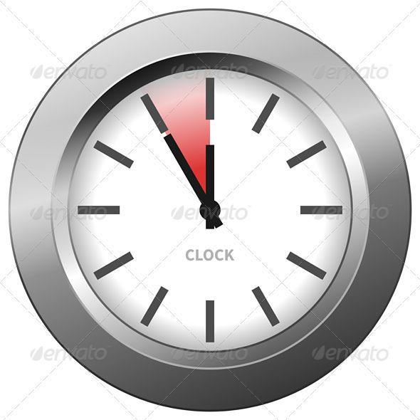 Light Clock - Objects Vectors