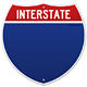 Isolated Interstate Sign - GraphicRiver Item for Sale