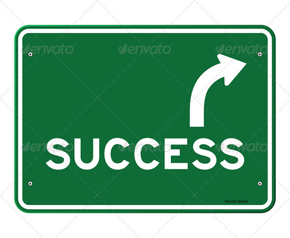 Success Sign - Objects Vectors