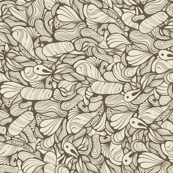 Vector Seamless Funky Pattern - Patterns Decorative