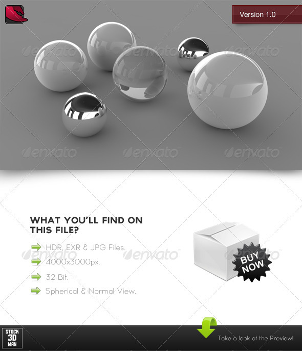 HDRi Studio Light 3 - 3DOcean Item for Sale