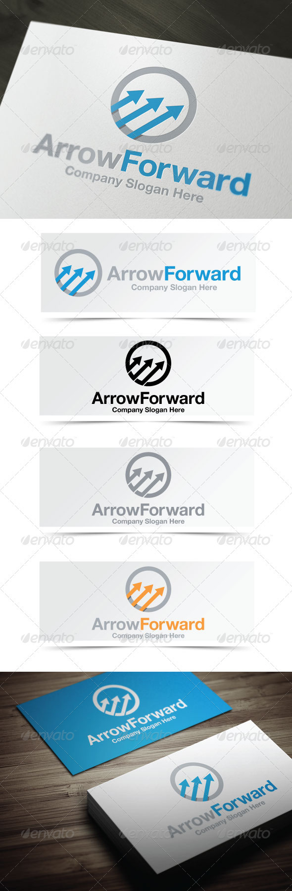 Arrow Forward - Symbols Logo Templates