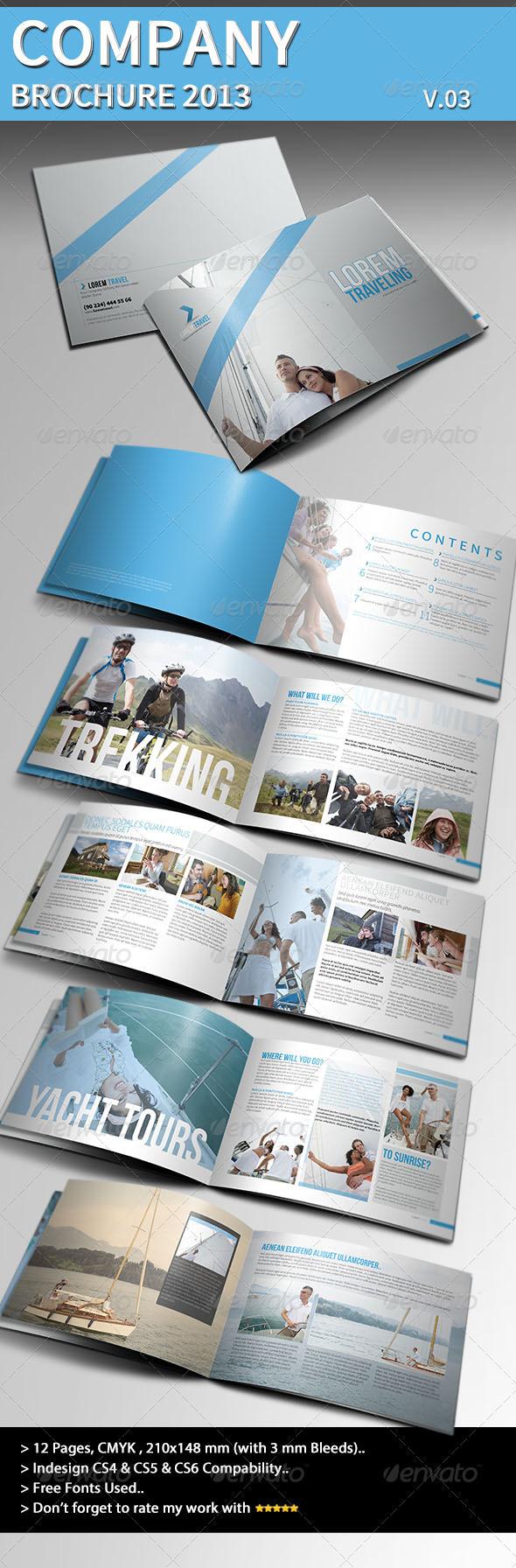 Company Brochure 2013 Part 03 - Brochures Print Templates