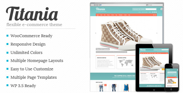 Titania - Flexible eCommerce Shop Theme