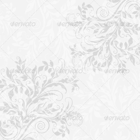 EPS10 Decorative Floral Background - Backgrounds Decorative