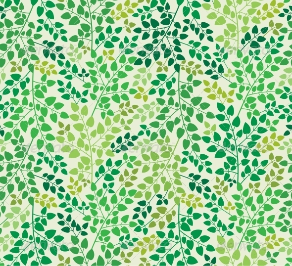 Floral Seamless Background - Patterns Decorative