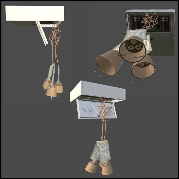 Oxygen Masks - 3DOcean Item for Sale