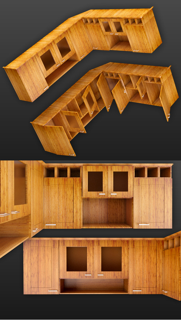 Cupboard of Corner - 3DOcean Item for Sale