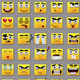 Square Emoticons - GraphicRiver Item for Sale