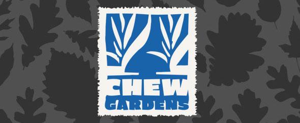 Chew gardens leaf logo