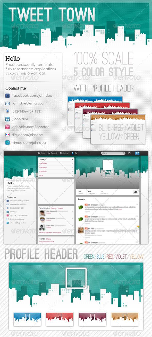Tweet Town - Twitter Social Media