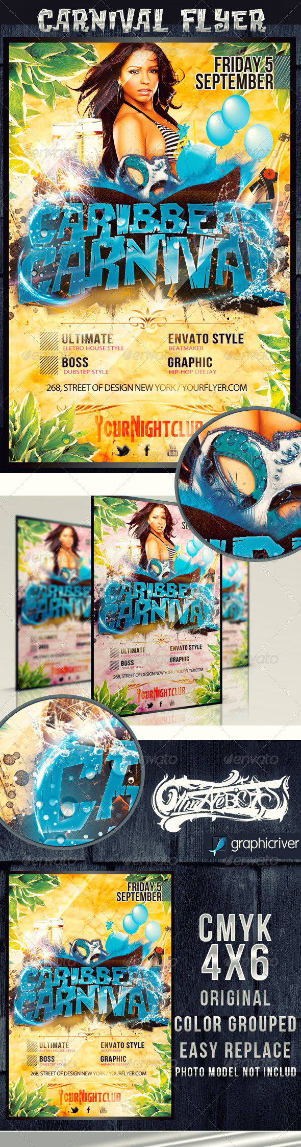 Caribbean Carnival - Clubs & Parties Events