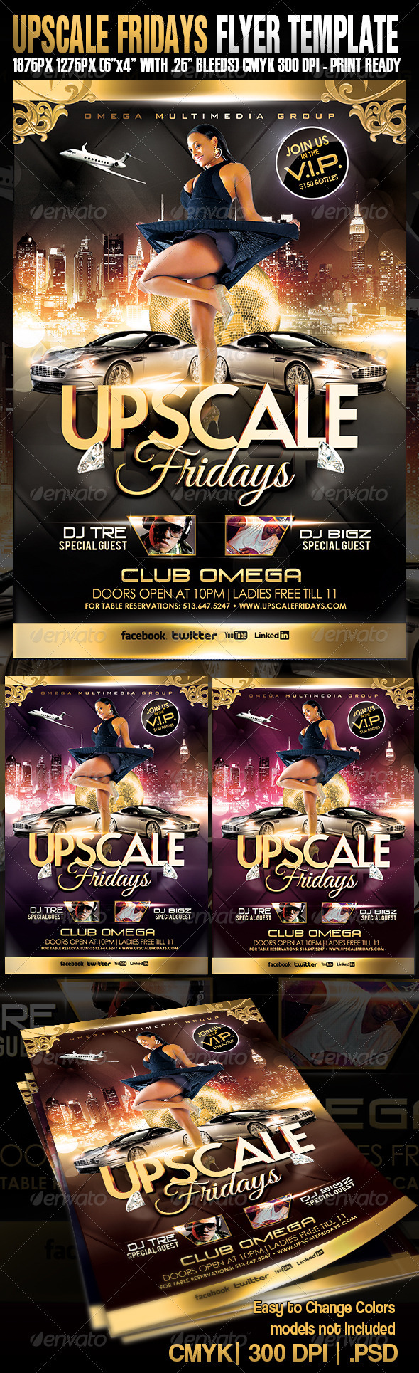 Upscale Fridays - Clubs & Parties Events