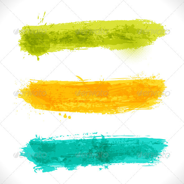 Vector Grunge Banners - Decorative Vectors
