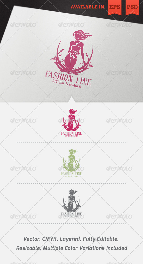 Fashion Logo Template by floringheorghe | GraphicRiver