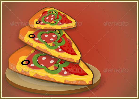 Pizza Slices - Food Objects