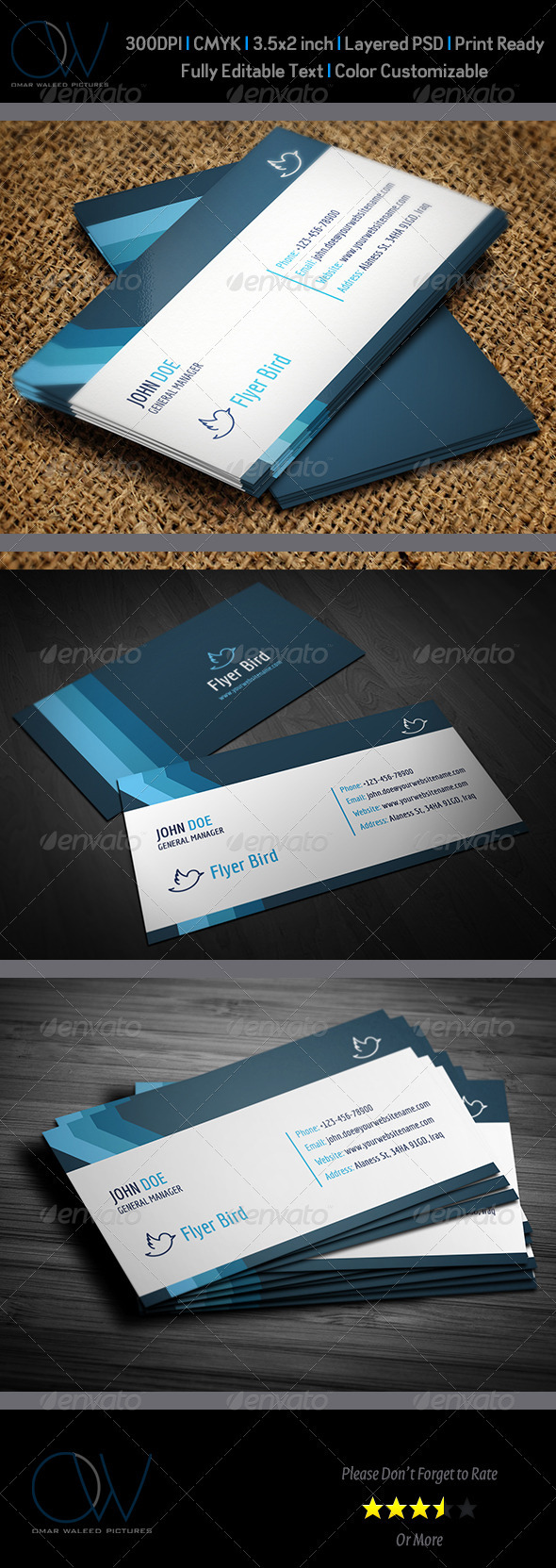 Corporate Business Card Vol.16 - Corporate Business Cards