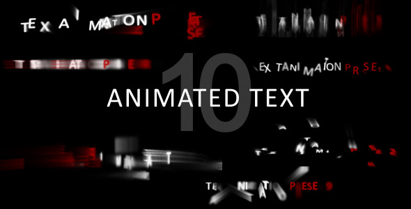 after effects text animation