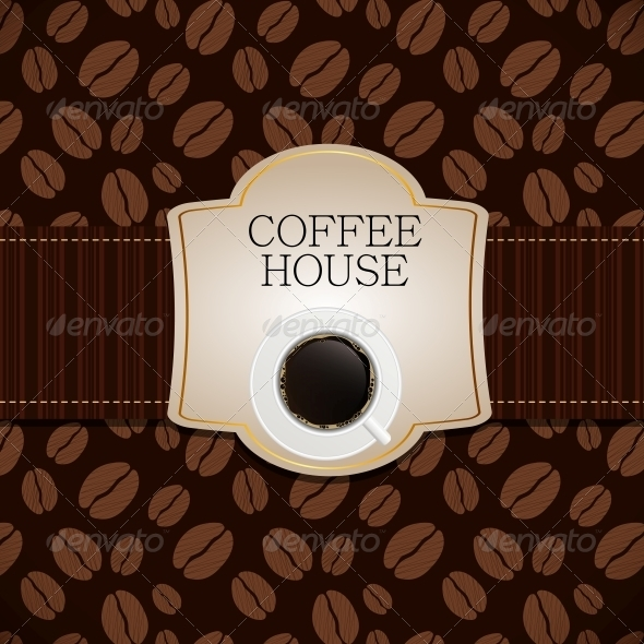 Coffee House Menu Template Vector Illustration - Miscellaneous Conceptual