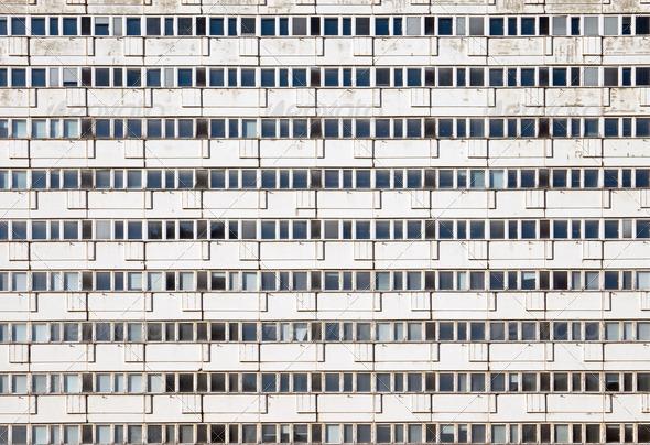 Precast apartment building - Stock Photo - Images