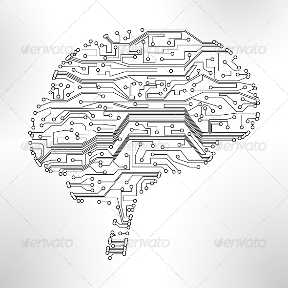 circuit board vector background - Communications Technology
