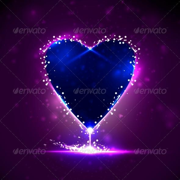 Futuristic heart - Valentines Seasons/Holidays
