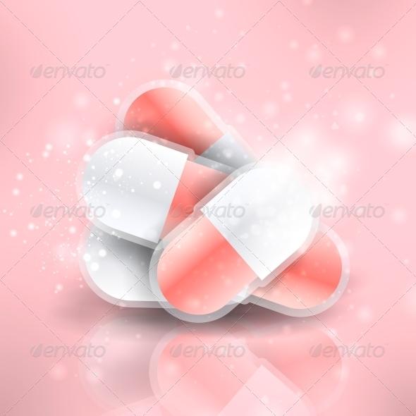 Medical Pills  - Health/Medicine Conceptual
