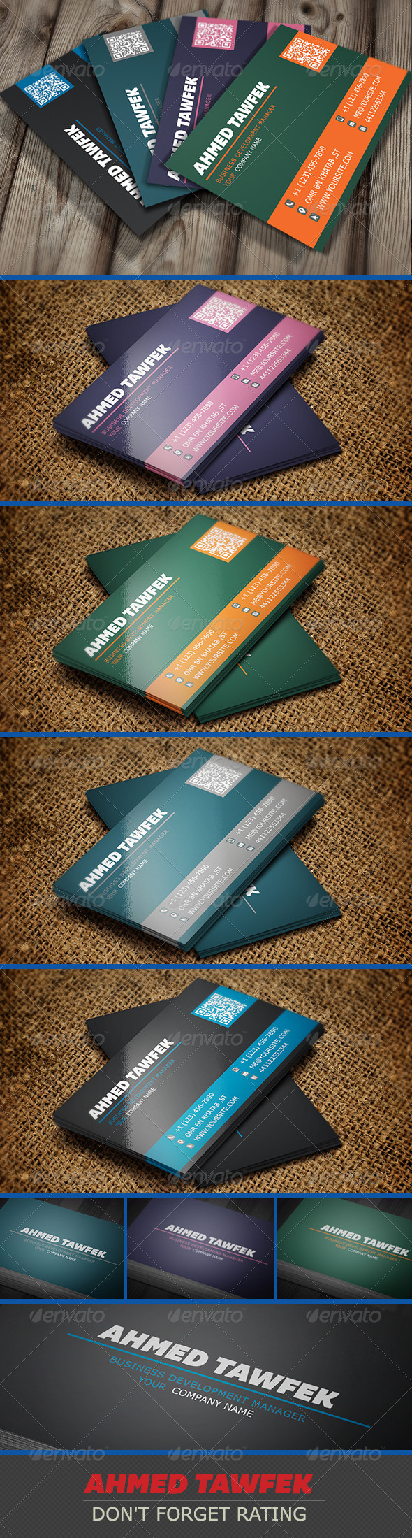 Simple company Business Cards - Corporate Business Cards