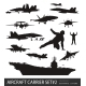Naval Aviation Silhouettes - GraphicRiver Item for Sale