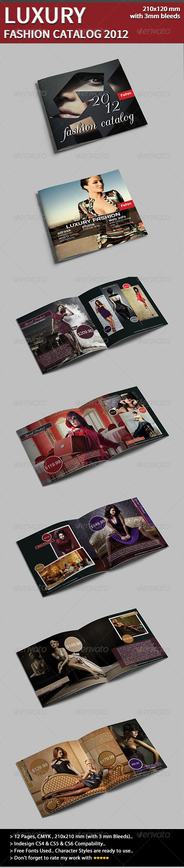 Luxury Fashion Catalog - Catalogs Brochures