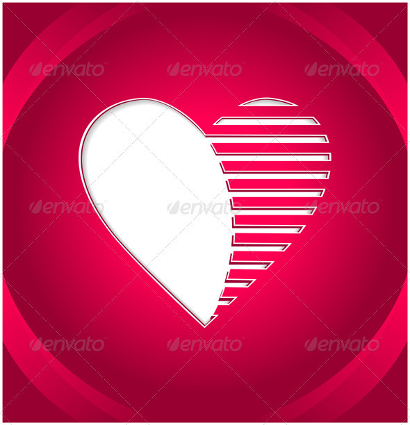 Creative Heart Button - Valentines Seasons/Holidays