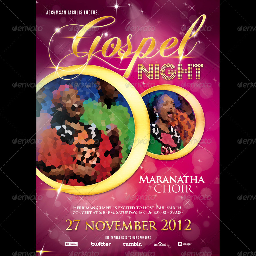 Gospel Flyers Peopledavidjoel