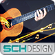 Guitar logo - VideoHive Item for Sale