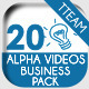 Info Icons 20 Videos - Business Finance Pack - VideoHive Item for Sale