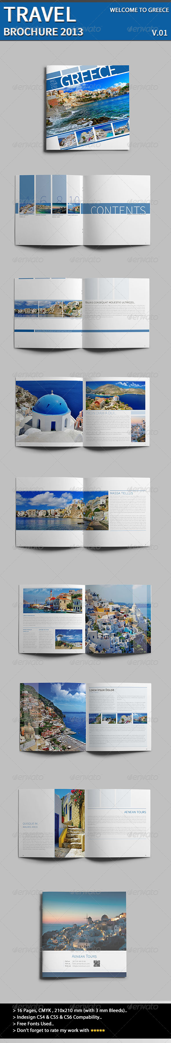 Welcome To Greece - Informational Brochures