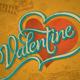 Hand-Lettered Vintage Valentine Card (vector) - GraphicRiver Item for Sale