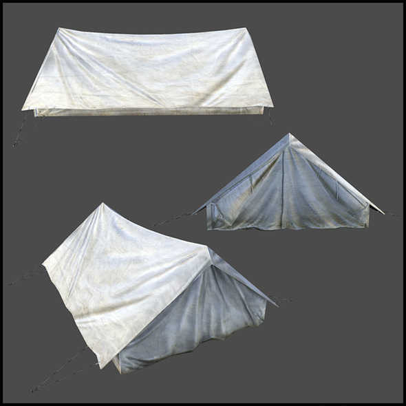 Small Tent - 3DOcean Item for Sale