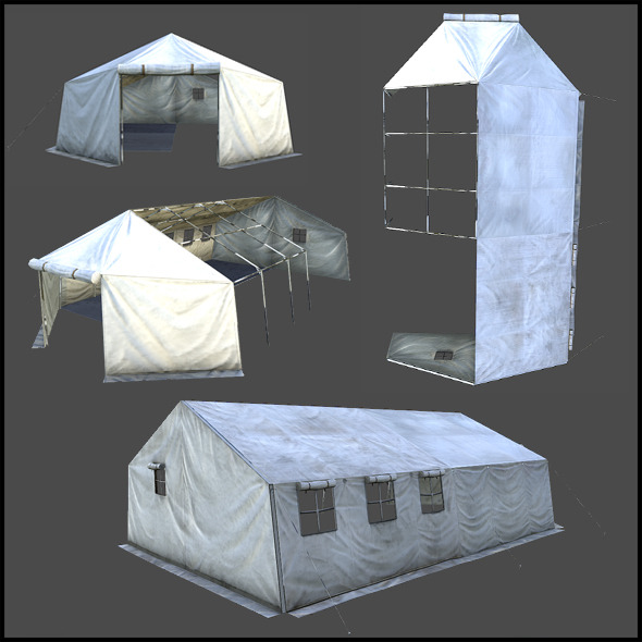 Big Tent - 3DOcean Item for Sale