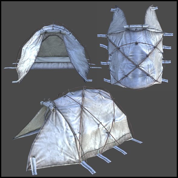 Dome Tent - 3DOcean Item for Sale