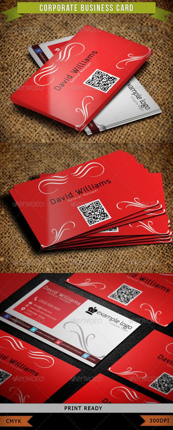 Corporate Business Card 003 - Corporate Business Cards
